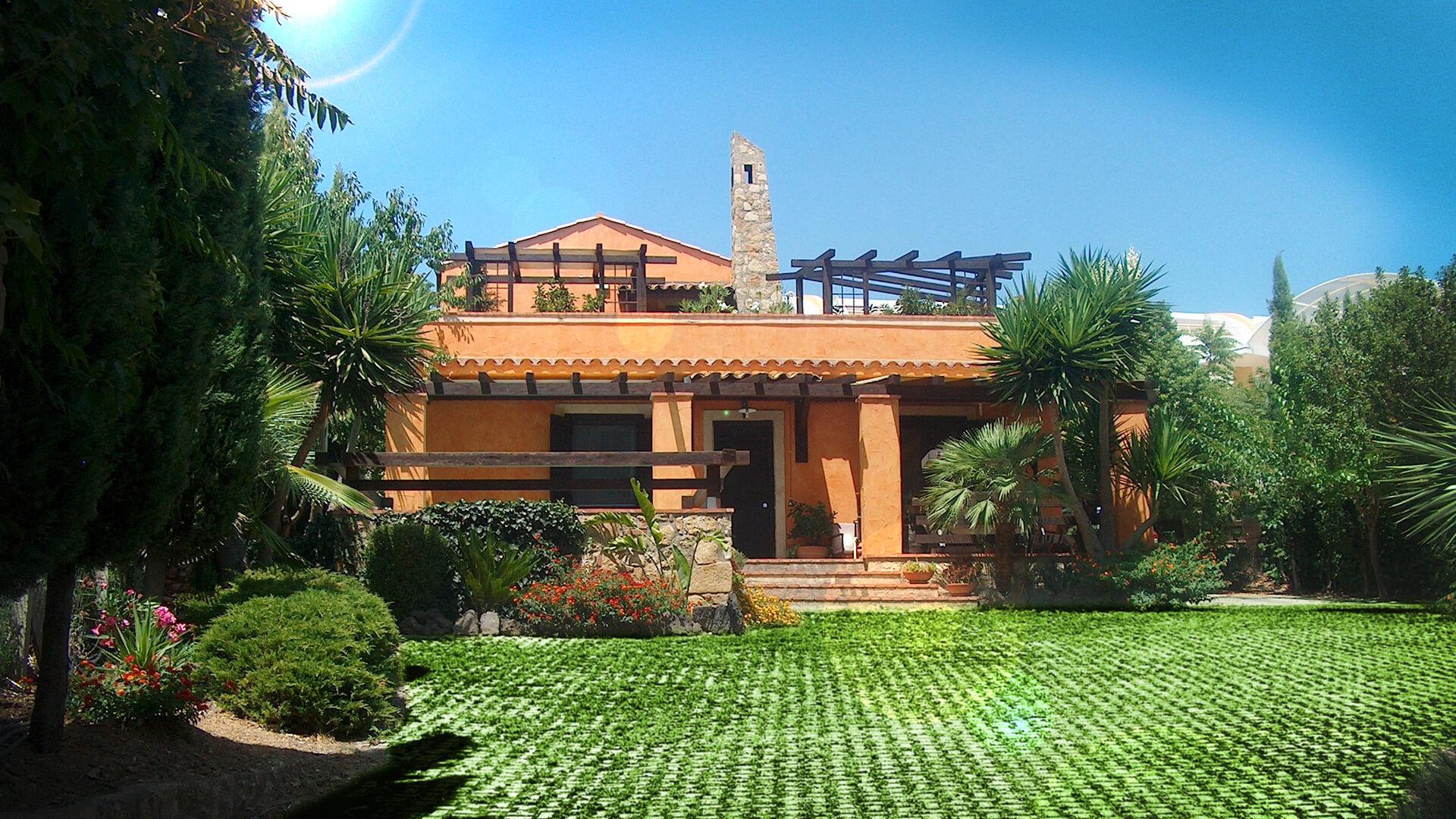 Progettazione Villetta in stile rustico Caltanissetta