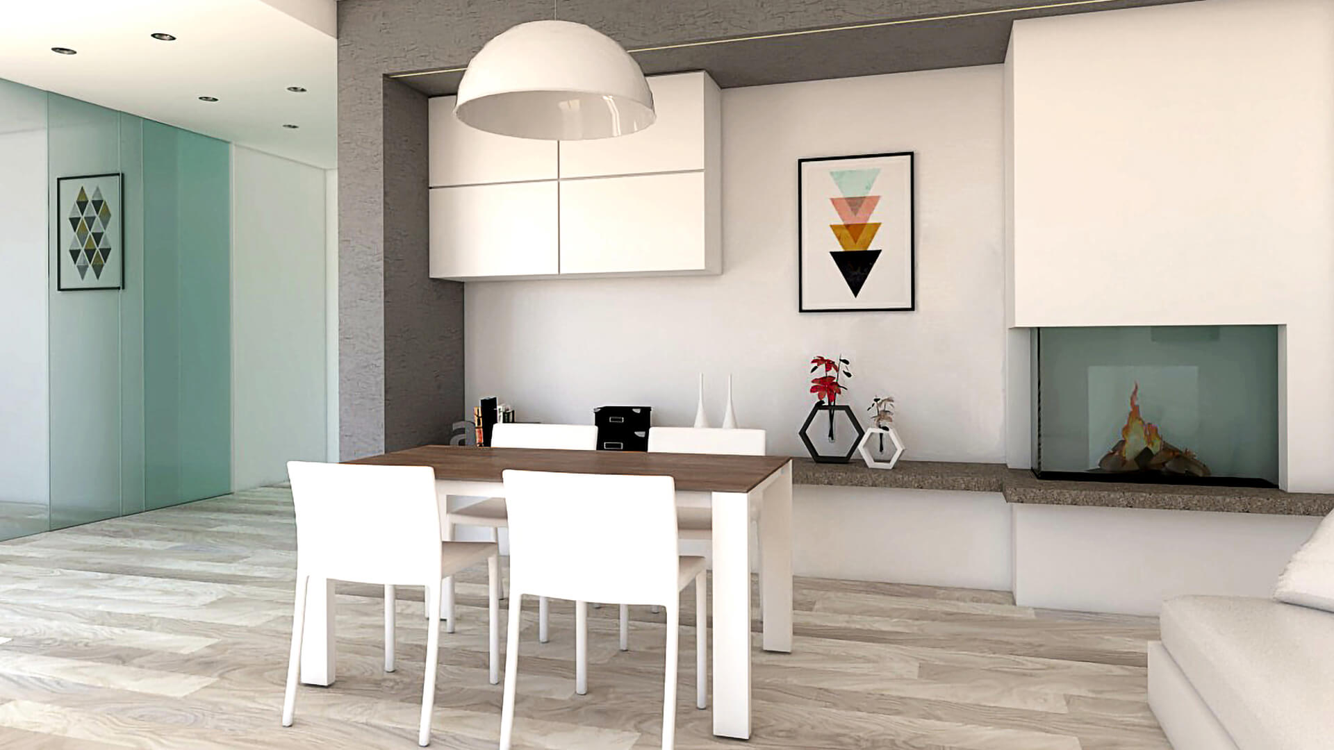 Render Appartamento LD; Luogo Reggio Emilia (RE)