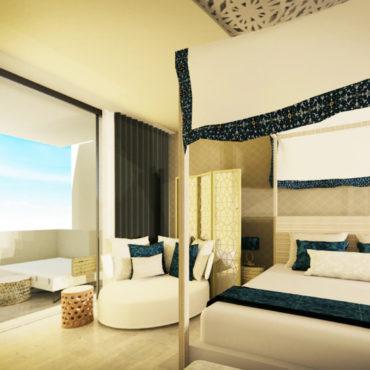 Suite presidenziale del Saadiyat Island Hotel: Render 360°
