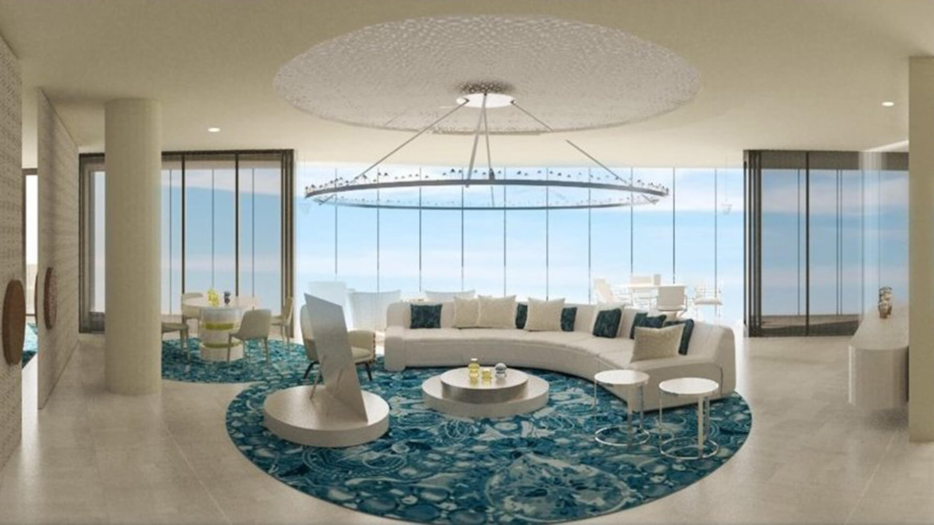 Render Suite presidenziale del SAADIYAT ISLAND HOTEL; Luogo: Abu Dhabi