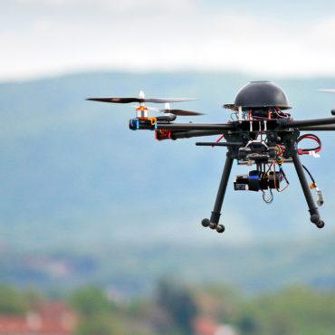Rilevazioni aeree con droni professionali