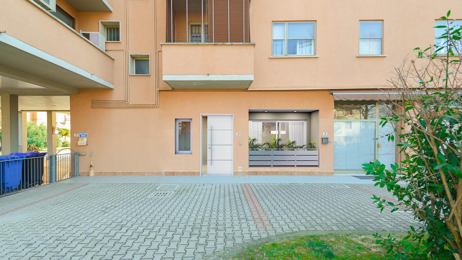 Progettazione e render appartamento. Località: Bologna