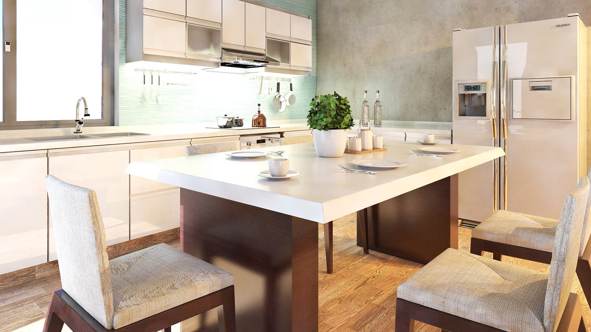 Progettazione e render Appartamento. Località: Modena (MO)