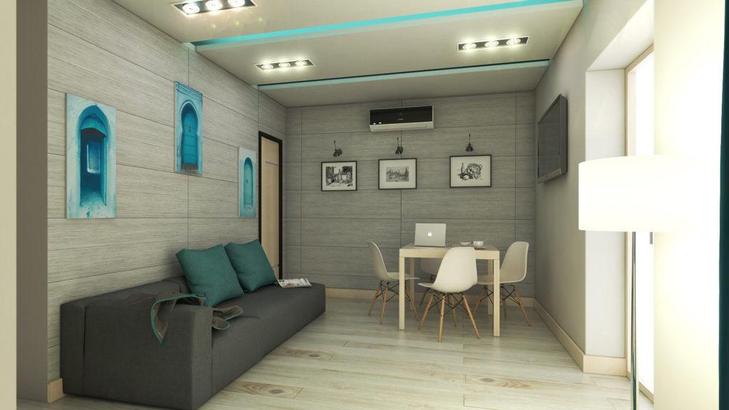 Progettazione e render Casa. Località: Buonfornello (PA)