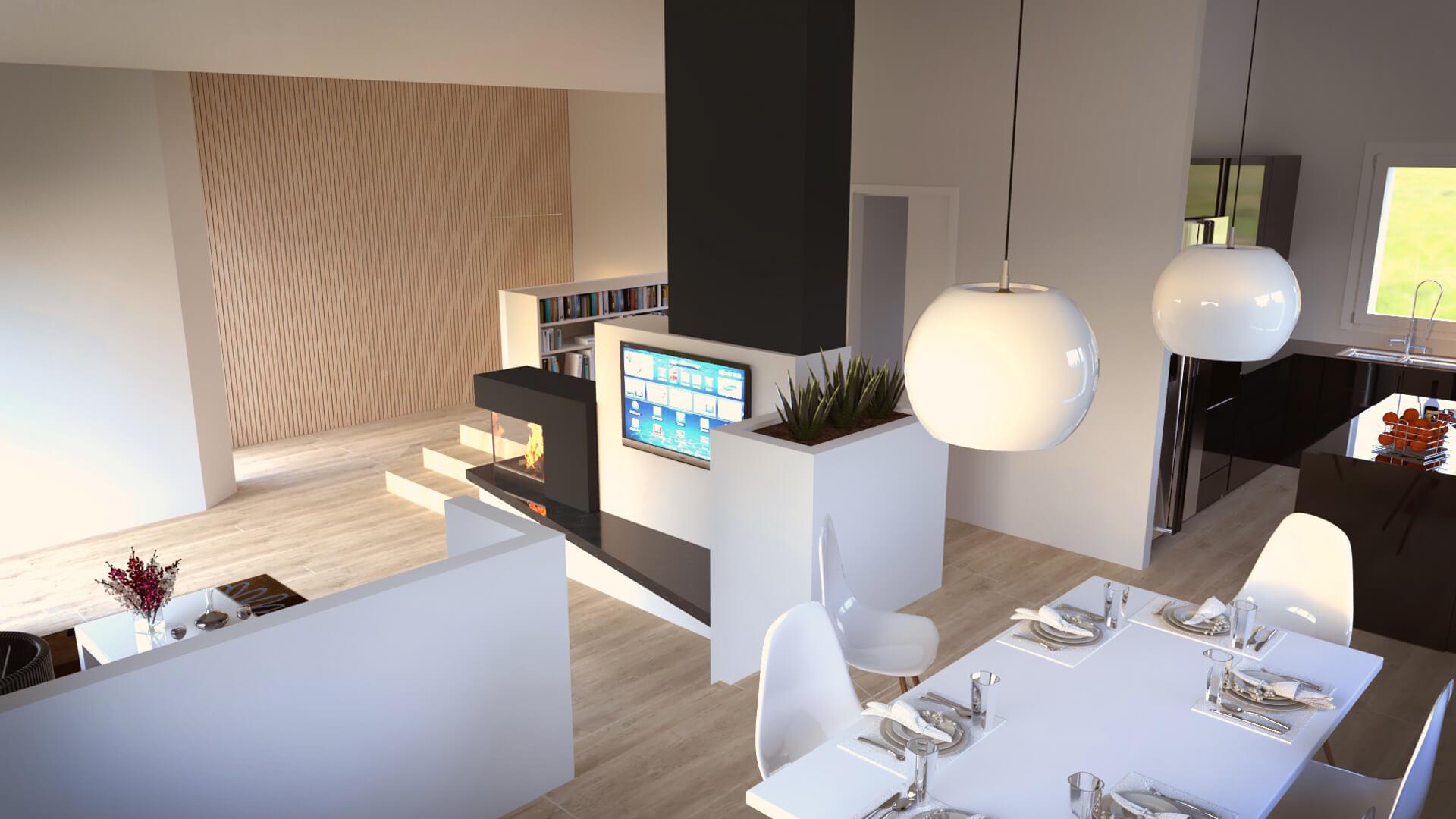 Render appartamento AV Luogo Milano