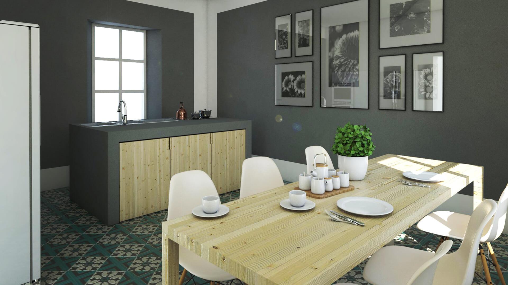 Render Casa. Località: Faenza (RA)